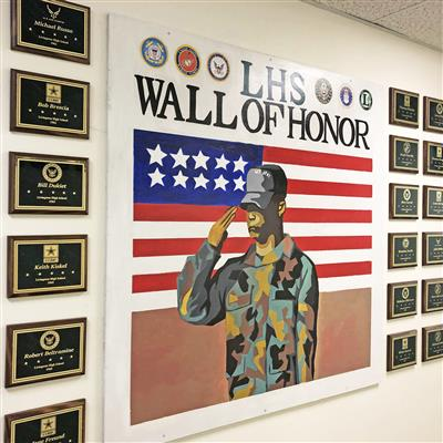 Military Alumni Invited to View Tribute at LHS