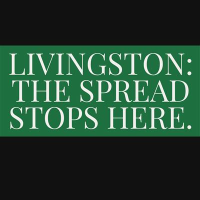 "VIDEO: ""Livingston: The Spread Stops Here."""