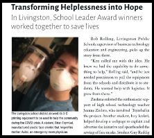 Head of the Class: Transforming Helplessness into Hope