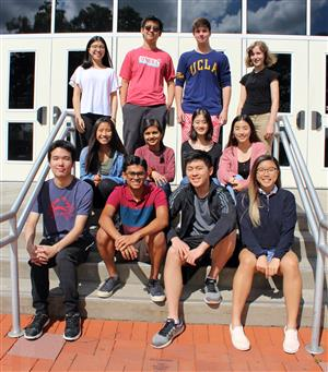 photo of national merit semifinalists