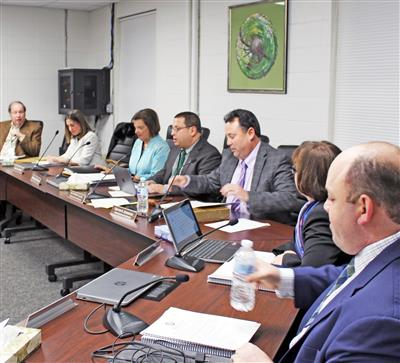 Board of Education Holds Reorganization Meeting