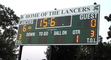 Lancer Scoreboard