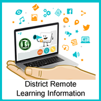 district remote learning information
