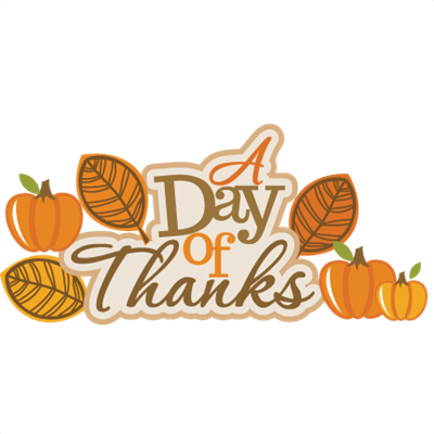 Day of Thanks!